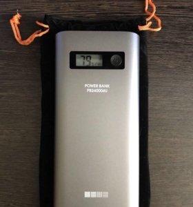 Power Bank Внешний аккумулятор InterStep 24000 mAh