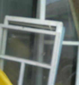 Продам Рамы оконные застекленные деревянные