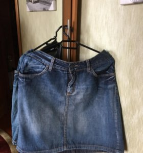 Юбка джинсовая р. 50-52