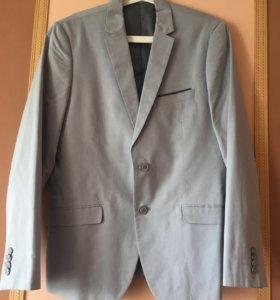 Пиджак мужской светло голубой Reserved, размер L