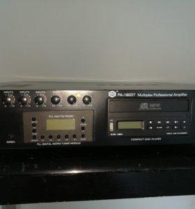 Аудио уселитель-проигрователь