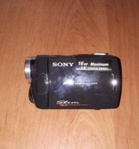 Цифровая видео камера sony 16MP slim