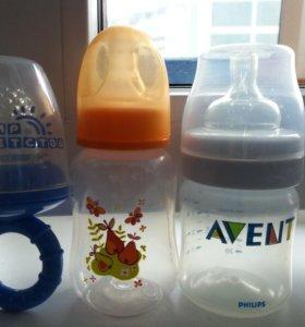Бутылочки и ниблер