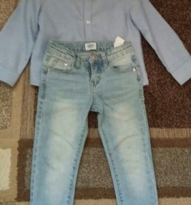 Рубашка +джинцы 3 года