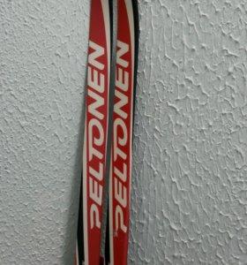 Лыжи, палки