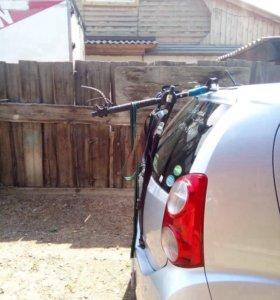 Автобагажник для 3 -х велосипедов. Новый. Италия