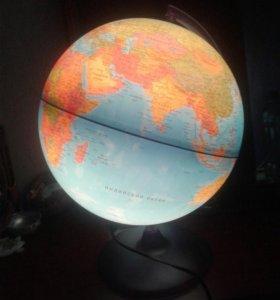 Глобус новый