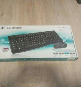 Клавиатура + мышь Новая