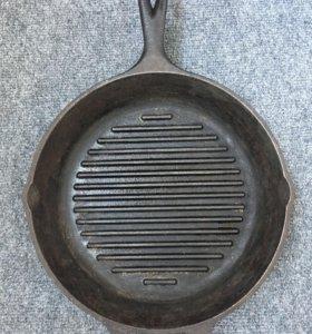 Сковорода гриль Lodge