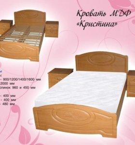 Удобнейшая кровать с матрасом :)