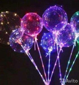 Уникальные шары с подсветкой