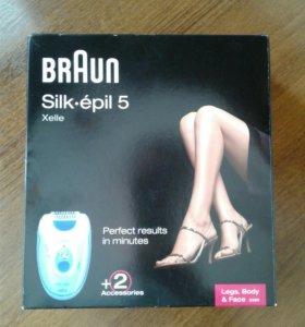 Эпилятор Braun Silk-pil 5580