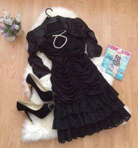 Вечернее платье с болеро 40-42/170