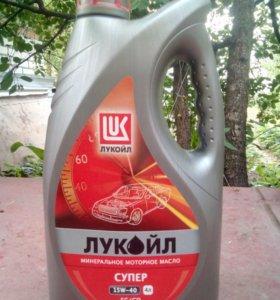 Минеральное Моторное Масло СУПЕР 15W-40 (4 л.)