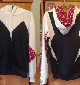 Толстовка Spider-Gwen