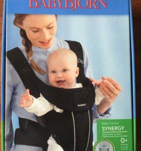 Рюкзак-кенгуру Baby Bjorn synergy белый, новый.