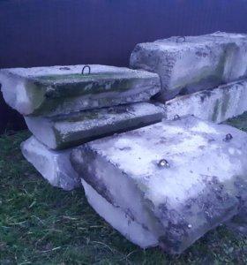 Фундаментные блоки и подушки(фбс)