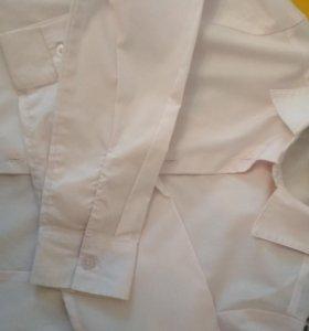 Блузки рубашки для девочки 4 шт.