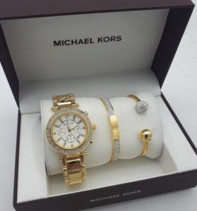 Набор Майкл Корс часы + браслет
