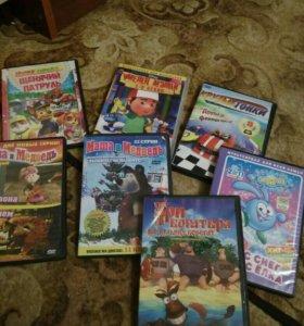 Dvd диски мультфильмы