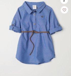 Новое детское платье H&M размер 80