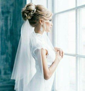 Шиньон для Невесты