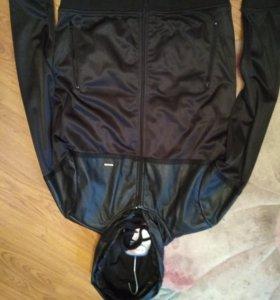 Куртка-олимпийка на флиске. Размер 46.