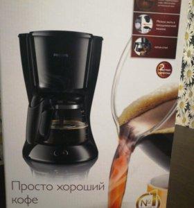 Продам кофеварку новую