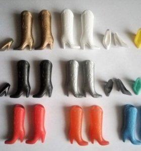 Туфли и сапоги для Барби