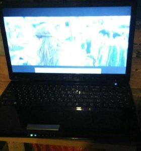 Ноутбук msi. Модель cx 620.