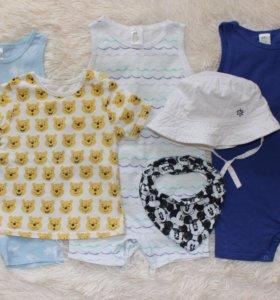 Фирменная одежда для мальчика 9-12 мес (80 р)
