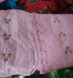 Пуховое одеяло.
