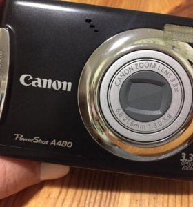 Фотоаппарат Canon PowerShot A480 + карта памяти
