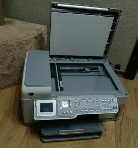 HP photosmartc7283 принтер факс копир сканер