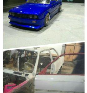 Кузовной ремонт покраска авто