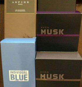 Individual Blue,Musk Marine/Iron/Storm, Aspire Man