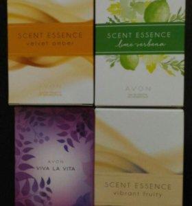 AVON Lime Verbena/Velvet Amber/Vibrant Fruity/Viva