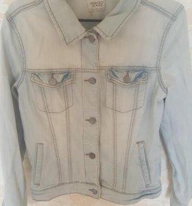 Джинсовая куртка Манго
