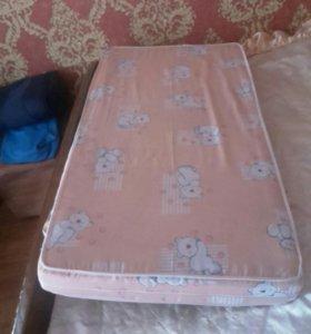 Матрас на детскую кровать