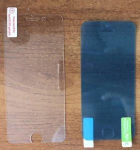 Стекло и пленка айфон 5