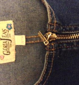 джинсовый сарафан 104