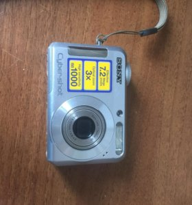 Фотоаппарат Sony cyber-shot dsc-s650