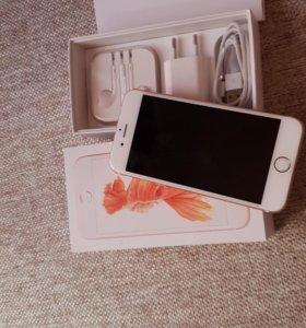 iPhone 6 s розовое золото , 32 гб