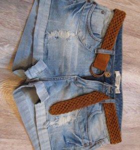 Шорты джинсовые на 42 размер