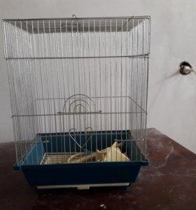 Клетка для птиц состояние хорошее