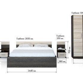 Новая спальня со склада в Краснодаре