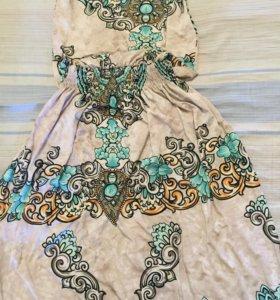 Удобное платье в пол