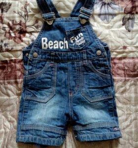 Комбенизон джинсовый новый