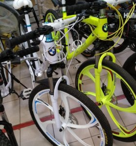 BMW велосипед