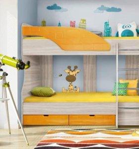 хм Кровать для детской диал